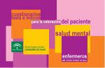 Cuestionarios, tests e índices para la valoración del paciente. Salud mental.